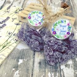 Pack caramelos violetas +...