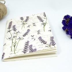 Cuaderno lavanda