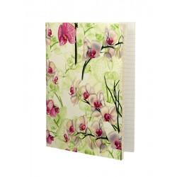 Cuaderno Orquídea